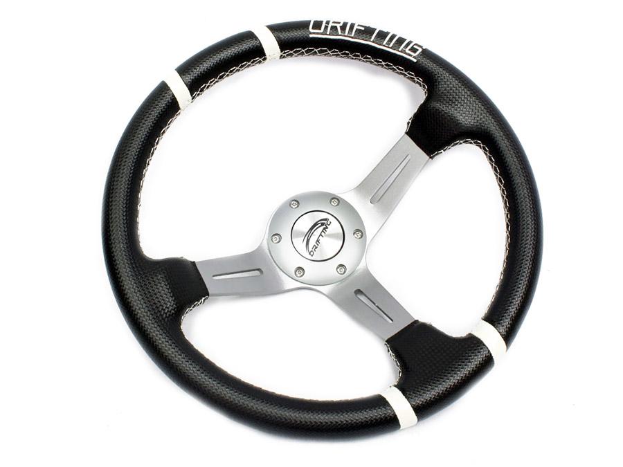Nexon Drift Style Steerings - Black & White