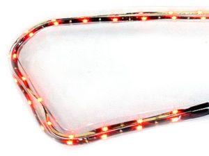 Ring Daytime LED Running Light Stripes (Red)-0