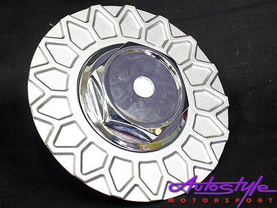 Center Cap for BBS Silver Wheels