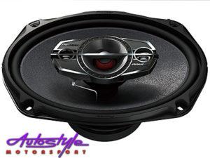 "Pioneer TS-A6985S 550w 4way 6x9"" Speakers-0"