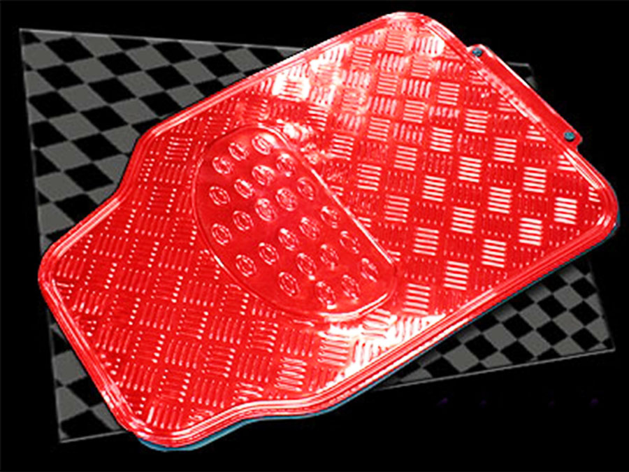 Red rubber car mats best way to charge phone battery