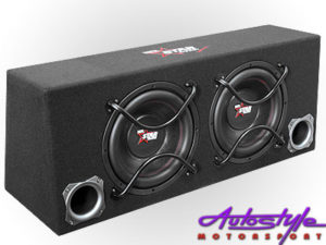 Starsound 3000w dual subwoofer with enclosure set-0