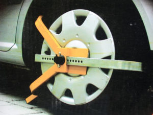 Car Security Wheel Clamp-0