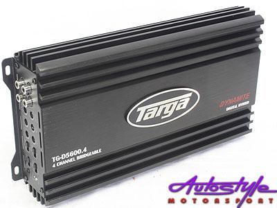 Targa Dynamite Series 5600w 4ch Amplifier-0