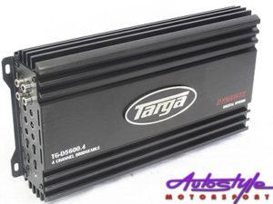 Targa Dynamite Series 7600w 4ch Amplifier-0