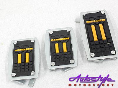 Momo Sports Pedals Black & Yellow-0