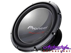 """Pioneer TS-W3003D4 12"""" Champion Series 2000w Sub-0"""