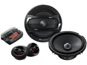 "Pioneer TS-A1305C 5 1/4"" Component Split System-0"
