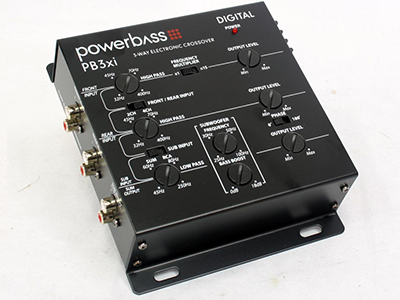 Powerbass 3way Electronic Crossover