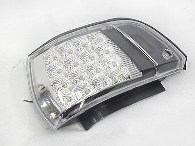 Toyota E8E9 Chrome & Black LED Cornerlamps