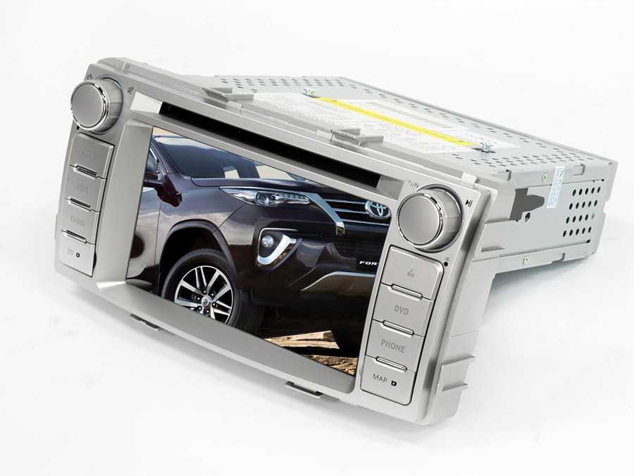 Double Din DVD with USB/Bluetooth/FM for Toyota Hilux/Fortuner (facelift)