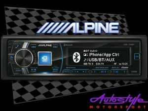 Alpine CDE-178BT Mp3 with USB & Bluetooth-0