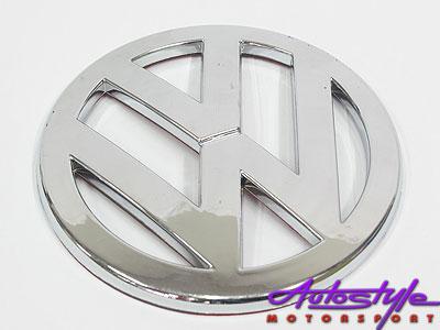 VW Round Emblem Stick on Badge