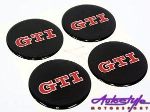 VW GTi Mag Center Cap Decals-0