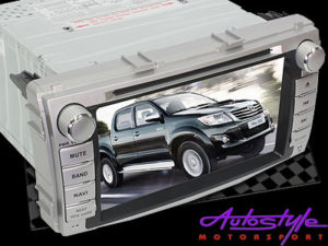 Double Din DVD with USB/Bluetooth/FM for Toyota Hilux/Fortuner (facelift)-0