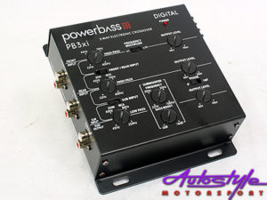 Powerbass 3way Electronic Crossover-0