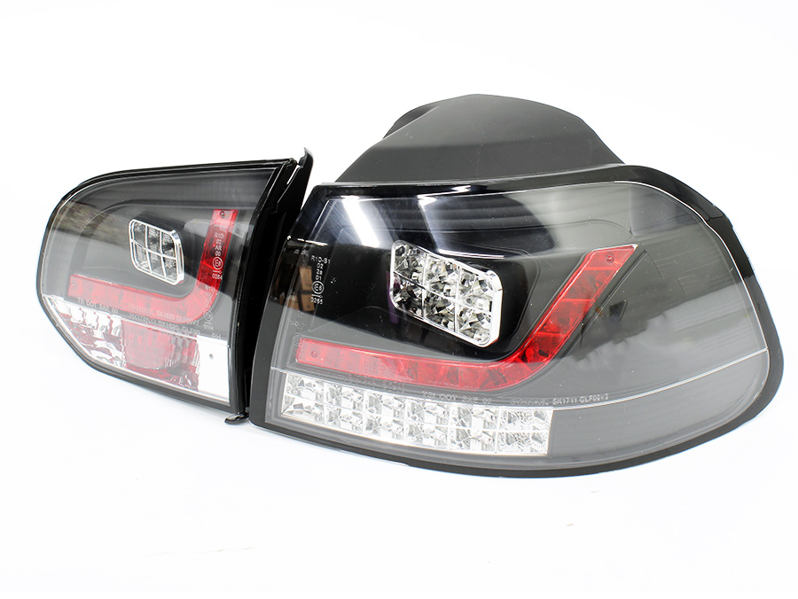 VW Golf Mk6 Smoke & Red LED Tailights