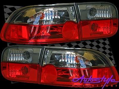 Honda Luxline Smoke Crystal Tailights