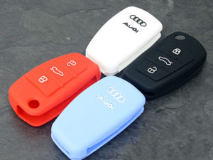 Rubber Audi Keyfob Protection Cover-0