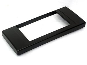 Radio Fascia Trim Plate suitable for M5/E39 (double din)-0