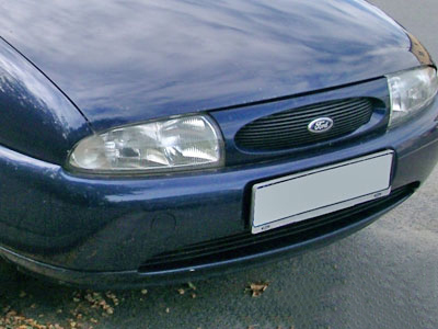 Ford Fiesta Replacement Plastic Front Bumper