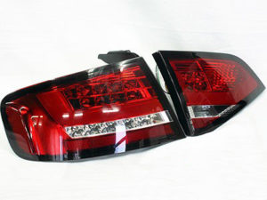 Audi A4 B8 LED Red Rear Tailights-0