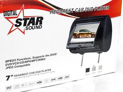 Starsound Headrest Screens & DVD Player Kit