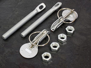 Bonnet Catch Pin Kit (silver)-0