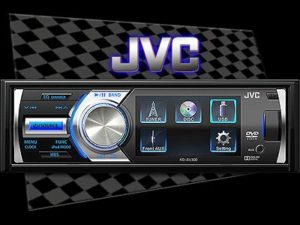 "JVC KD-AV300 Mp3/DVD with 3"" Display Screen-0"