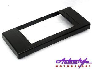 Radio Fascia Trim Plate suitable for M5/E39 (double din)-0