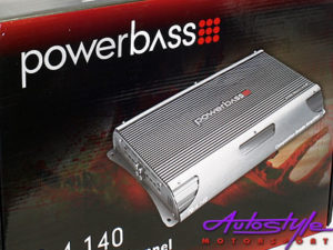 Powerbass 8000W 4 Channel Amplifier-18237
