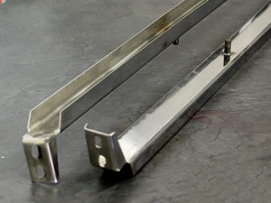 VW Bus Stainless Steel Front Door Channel-0