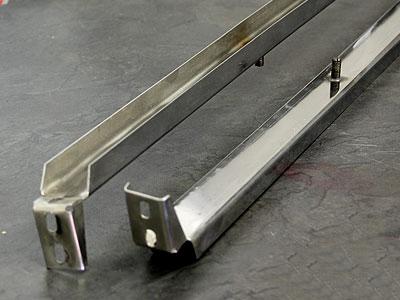 VW Bus Stainless Steel Front Door Channel-0