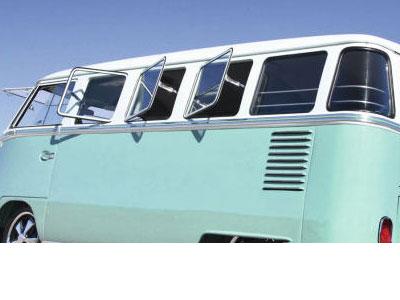 VW Kombi/Fleetline splitty Pop Out side windows-18707