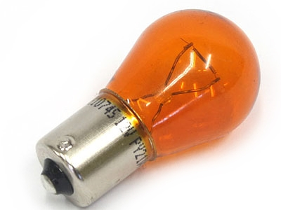 Single Contact Orange Indicator Bulb