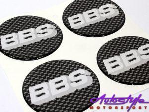 BBS 70mm Wheel Center Cap Stickers-0