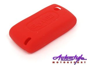 Rubber Key Cover for Peugeot (2 button)-0