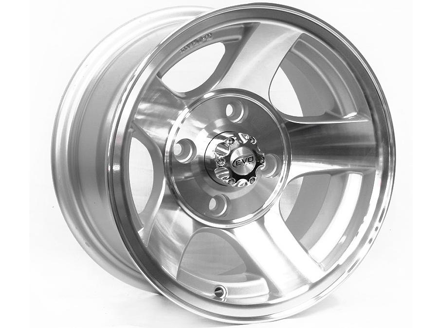13″ Evo BK222 4/114 Alloy Wheels