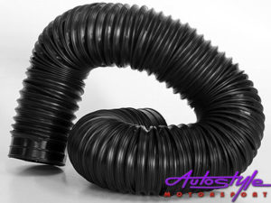 Universal Flexi Ducting Hose Black 63mm-18822