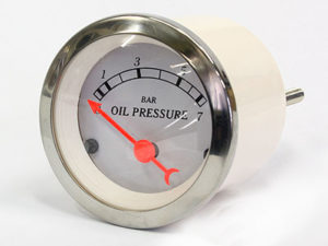 Autogauge Chrome Series Oil Pressure Gauge-0