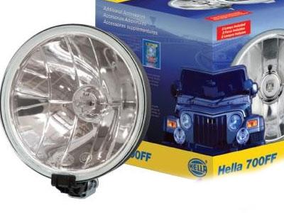 Hella Comet 700FF Spotlamps