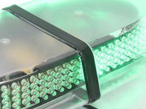 Universal Roofmount Emergency LED Strobelight (green)-0