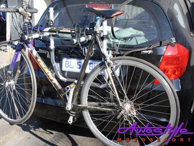 Evo 3 Bicycle Bike Carrier Rack (Sedan or Hatch)