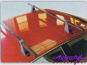 Evo Twinbar Roof Bicycle Bike Carrier Rack (gutterless cars)-0