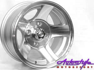 "13"" Evo BK222 4/114 Alloy Wheels-0"