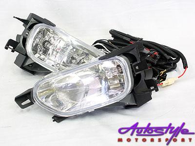 Honda CRV 02-05 Bumper Foglamps