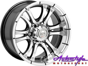 "15"" A-Line Fear 5/114 Alloy Wheels-0"