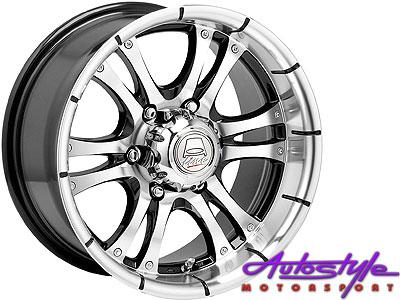 15″ A-Line Fear 5/114 Alloy Wheels