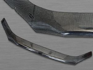 Hyundai i20 2013up Carbon Bonnet Guard-0