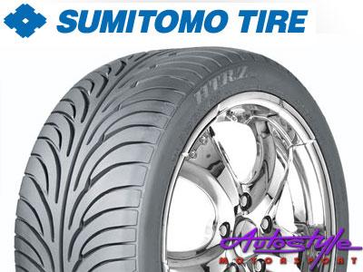 """225-45-17"""" Sumitomo HTRZ2 Tyres-0"""